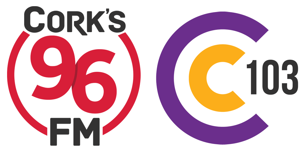 Cork's 96FM and C103 logos